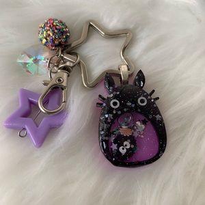 """""""Totoro"""" Key Charm"""